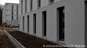 Κατασκευή κατοικιών για πρόσφυγες στο Βερολίνο