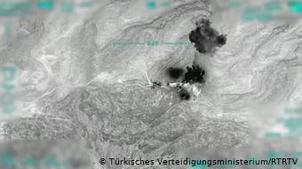 Στόχος των αεροπορικών επιθέσεων πάνω από 80 θέσεις του PΚΚ και των συμμάχων του