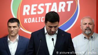 Υπό παραίτηση ο μεγάλος χαμένος των εκλογών Νταβόρ Μπέρναρνιτς, πρόεδρος των Σοσιαλδημοκρατών