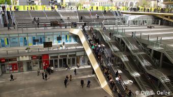 To εμπορικό κέντρο Les Halles του Παρισιού