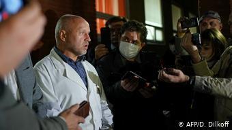 Aπό το ιατρικό ανακοινωθέν για τον Ναβάλνι στο ρωσικό νοσοκομείο του Ομσκ στις 21 Αυγούστου