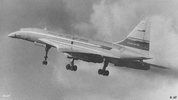 Πρώτη απογείωση για το Κονκόρντ το 1969 στο Μπρίστολ της Αγγλίας