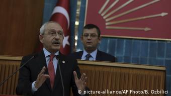 Ο επικεφαλής του αντιπολιτευόμενου, σοσιαλδημοκρατικού CHP, Kεμάλ Κιλιντζάρογλου