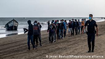 Νεοαφιχθέντες στη Γκραν Κανάρια