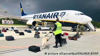 Αεροσκάφος Ryanair στο Μινσκ