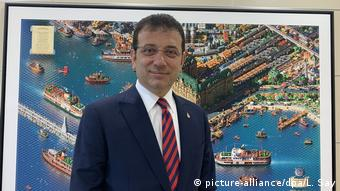 O δήμαρχος της Κωνσταντινούπολης Εκρέμ Ιμάμογλου